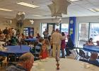 A RECEPTION AND Open House shows appreciation for the parishioners and alumni. Tours for prospective families were available.